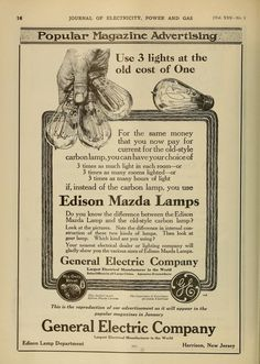 brief history of general electric company