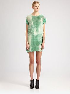 Acne - Juditha Maltinto Silk Dress - Saks.com