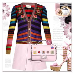 """""""Spring Style ..."""" by dragananovcic on Polyvore featuring Yves Saint Laurent, Marni, Gucci and Fendi"""