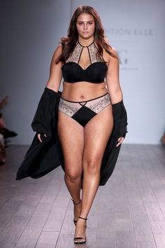 Addition Elle offers fashionable and trendy plus size women's clothing, including plus size lingerie, plus size jeans and plus size dresses. Trendy Plus Size Fashion, Stylish Plus, Pyjamas, Plus Size Outfits, Trendy Outfits, Ashley Graham Lingerie, Picture Of Body, Corset, Models Backstage