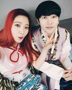 Yeri and Heechul