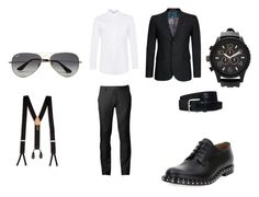 """""""Untitled #35"""" by directioner-792 on Polyvore featuring Chor, Topman, Valentino, Ted Baker, Tod's, Trafalgar, Ray-Ban and Forever 21"""
