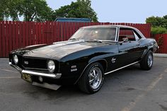 69 Camaro SS ... another old school and new school car set in my dream garage
