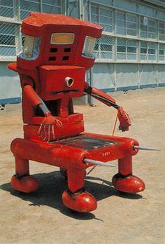 "monsters from 1970s TV series ""Kikaida"""
