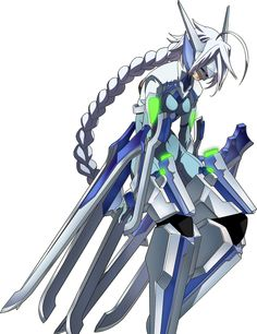 V 13 Blazblue BlazBlue Nu-13 Concept Art 8 | Concept & Design References | Pinterest ...