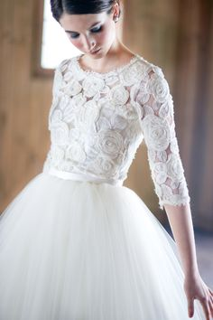 Charlotte Jenks Lewis Photography | Wedding Dress: Modern Trousseau