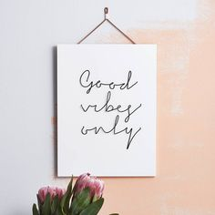 'good vibes only' wire wall plaque by more than just | notonthehighstreet.com