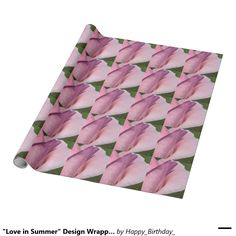 """""""Love in Summer"""" Design Wrapping Paper"""