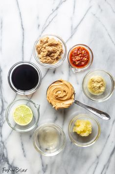 How to make the best Thai Peanut Sauce ever! This Peanut Sauce Recipe can be used as a dipping sauce, salad dressing, for peanut noodles or with chicken satay. Vegan Peanut Sauce, Easy Peanut Sauce, Peanut Dipping Sauces, Peanut Sauce Recipe, Spicy Peanut Sauce, Peanut Recipes, Sauce Recipes, Cooking Recipes, Thai Donuts Recipe