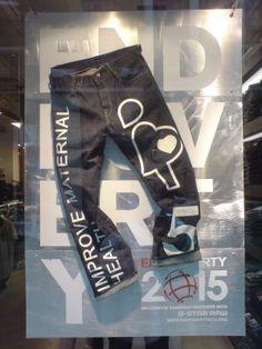 G-Star' Carnaby Street CSR campaign