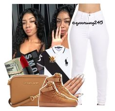 """Should I Start a Tag List? Wishing (Remix) x DJ Drama ft. Trey Songz Tory Lanez Jhene Aiko Fabulous"" by queenswag245 ❤ liked on Polyvore featuring Polo Ralph Lauren, Michael Kors and NIKE"