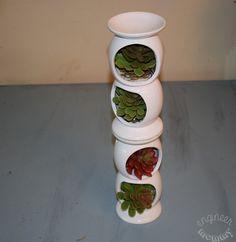 DIY Dollar Tree Succulent Tower