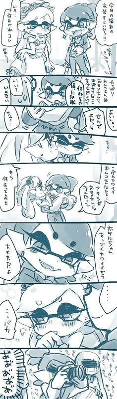 Callie and Marie 1 Y 2, Callie And Marie, Splatoon Comics, Cute Pokemon, Couple Art, Videogames, Mario, Nintendo, Sisters