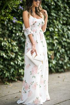 Trendy Beach Wedding Guest Dresses The best idea for wedding when it's hot - is to celebrate it on the beach. We make a list of beach wedding guest dresses. Short Beach Dresses, Cute Dresses, Casual Dresses, Maxi Dresses, Maxi Skirts, Dress Outfits, 1950s Dresses, Awesome Dresses, Dress Beach