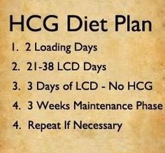 The HCG Diet Meal Plan - Read Now To Learn More!