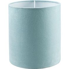 Faux Suede Shade - Duck Egg - at Homebase -- Be inspired and make your house a home. Buy now.