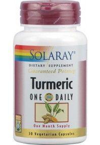 $18.50  Solaray Cúrcuma - Turmeric 30 cápsulas