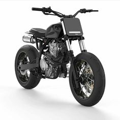 #Honda #nx650 #tracker #scrambler by @dab_design