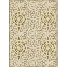 I pinned this Serafini Mosaic Rug in Ivory from the West Hills Collection event at Joss and Main!