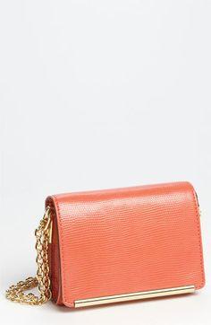 coral shoulder purse   Ivanka Trump