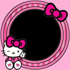 Cool Wallpaper, Wallpaper Backgrounds, Hello Kitty Invitations, Doraemon Wallpapers, Hello Kitty Pictures, Cute Frames, Hello Kitty Collection, Frame Background, Hello Kitty Wallpaper