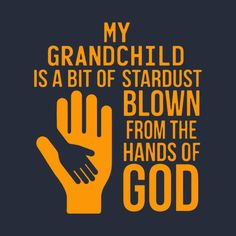 Check out this awesome 'My+Grandchild+Is+A+Bit+Of+Stardust' design on @TeePublic!