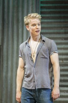"""""""Pics from Romeo and Juliet Good Luck with press night! Freddie Fox, Human Anatomy, Men Casual, Celebs, Actors, Mens Tops, Blondes, Porn, Babies"""