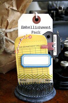 """Cocoa Daisy July add on sneak peek """"Embellishment Pack"""""""