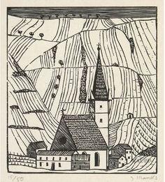 Gerhard Marcks, woodcut