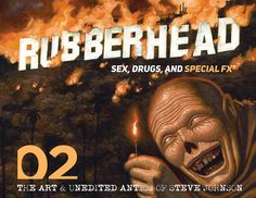 ZigZag loves the stories found in Steve Johnson's RUBBERHEAD: VOLUME 02: SEX, DRUGS, AND SPECIAL FX. Now out from Dark Ink. #horror #amreading Horror Dvd, Horror Books, Horror Stories, Species Ii, Night Of The Demons, Ghostbusters 1984, American Werewolf In London, Video Game Reviews, Dark Ink