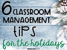 6 Classroom Management Tips for the Holidays - Kindergarten Smarts Classroom Management Tips, Classroom Procedures, Organization And Management, Classroom Behavior, Behavior Management, Kindergarten Science, Kindergarten Classroom, Classroom Activities, Holiday Activities