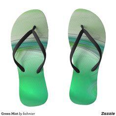 Green Mist Flip Flop