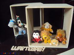 Luartebaby Artesanato: Nicho quadrado Luartebaby