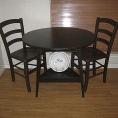 Small Black Kitchen Tables