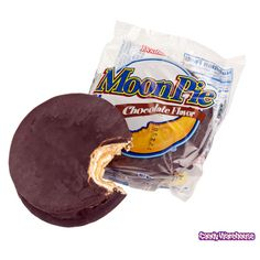 Chocolate Moon Pies - a staple of my childhood, along with the Banana Moon Pies, also.  Yuuuummmmyy.