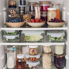 Shared by Christine. Find images and videos about food, fitness and healthy on We Heart It - the app to get lost in what you love. Old Refrigerator, Refrigerator Organization, All Fruits, Fruits And Vegetables, Clean Web Design, Food Waste, Food Hacks, Food Tips, Health Fitness