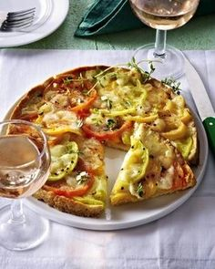 Das Rezept für Tarte mit bunten Tomaten und weitere kostenlose Rezepte auf LECKER.de