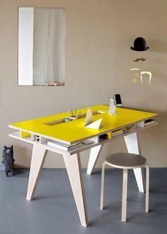 Furniture Design Desk this twisted desk design appears almost sculptural. unique office