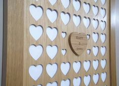 Great wall piece instead of guest book xx
