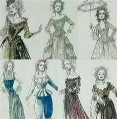Colleen Atwood Costume Design- Sweeny Todd
