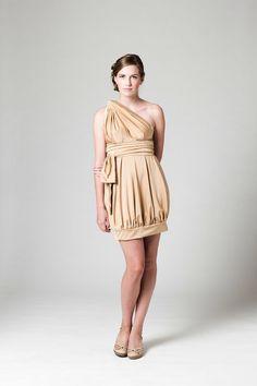 CONVERTIBLE DRESS- The Tulip Chameleon- Convertible Wrap dress