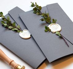 Wedding ceremony Invite Suite with lovely wax seals and greenery. Best Suits Wedding ceremony Invite Suite with lovely wax seals and greenery. Perfect Wedding, Dream Wedding, Wedding Day, Formal Wedding, Lace Wedding, Wedding Humor, Diy For Wedding, Money Gift Wedding, Diy Wedding Cards