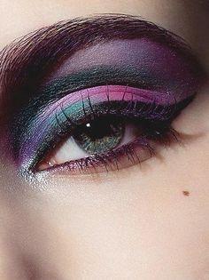 Eye Makeup . extremely luxurious eye makeup