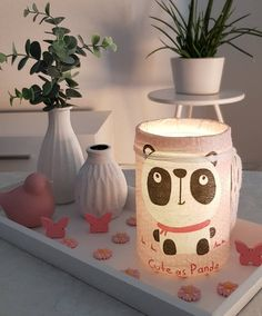 Jar, Etsy, Home Decor, Night Light, Lights, Craft Gifts, Decoration Home, Room Decor, Home Interior Design