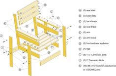 Picture of Exploded View, Material List and Cutting Diagram