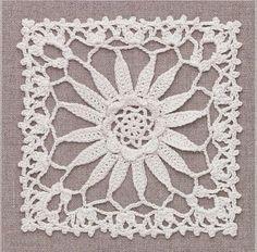 Ivelise Feito à Mão: Square Em Crochê Maravilhoso