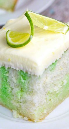 Lemon-Lime Luscious Poke Cake