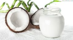 35 Uses for Coconut Oil That You Need to Know Coconut oil can be used in health and beauty products cleaning supplies and more! Check out these 35 secret uses for coconut oil. Coconut Oil Lotion, Coconut Oil For Teeth, Coconut Oil Pulling, Coconut Oil Uses, Coconut Milk, Doterra, Coconut Oil Coffee Benefits, Golden Milk, Health And Beauty
