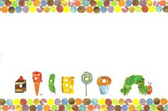 Make it Cozee: Free Very Hungry Caterpillar Invitation Template/Printable