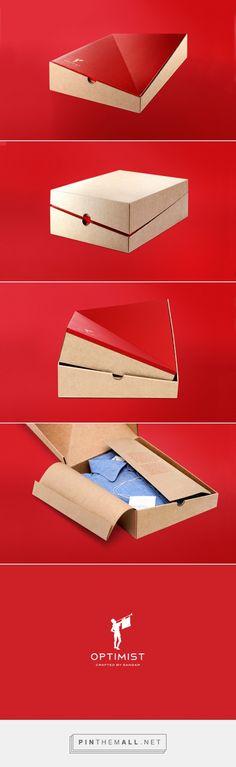 Sangar Optimist #shirt #packaging designed by Taevas Ogilvy - http://www.packagingoftheworld.com/2015/10/sangar-optimist.html